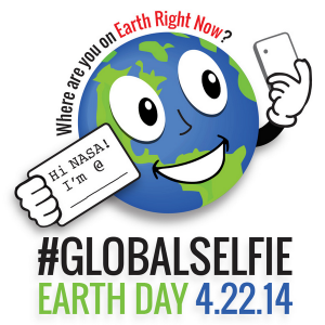 Make your Earth Day memorable with GlobalSelfie