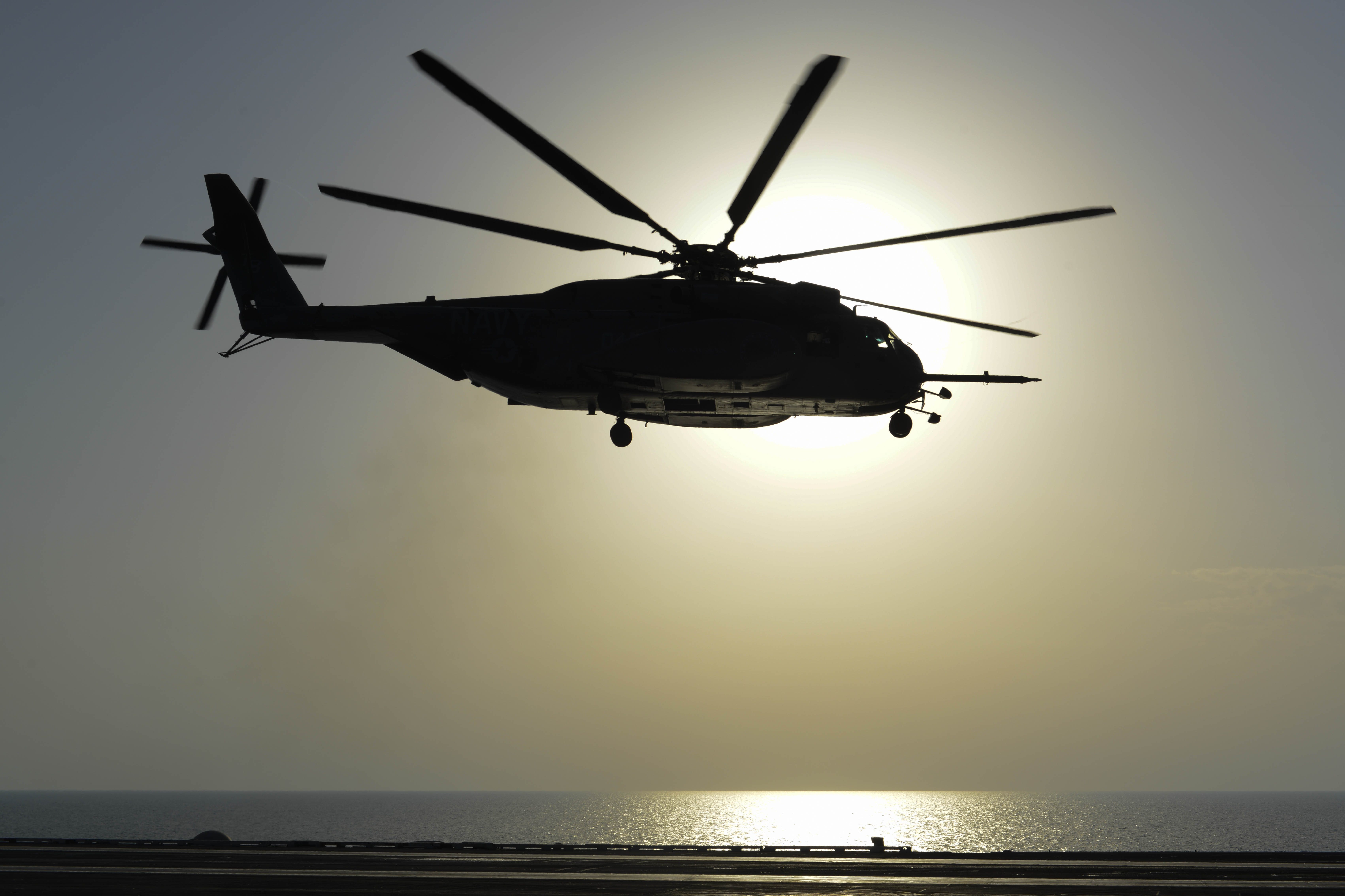 MH-53E Sea Dragon in Arabian Gulf