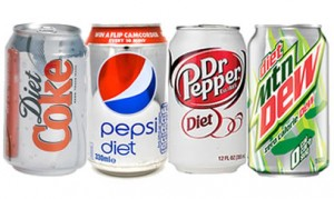 Diet soda cut fats, helps more than Water for Weight Loss