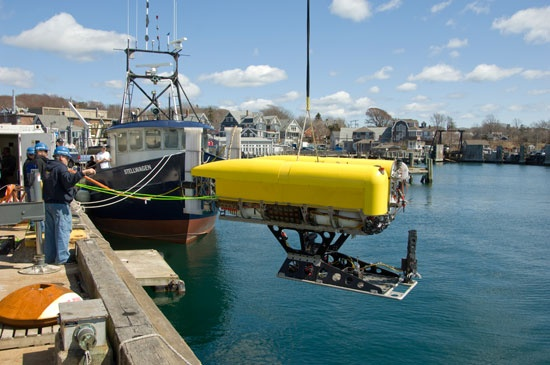 Remote Controlled Submarine