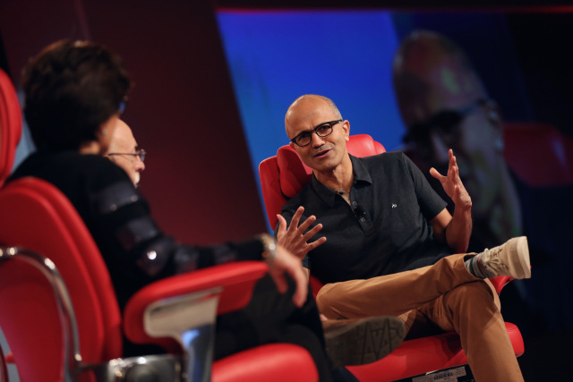 Satya Nadella, CEO Microsoft, Code Conference
