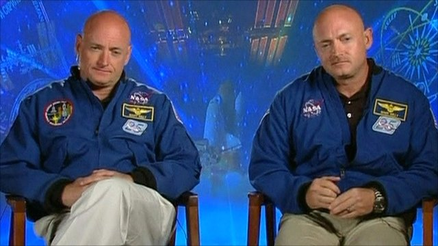 twin astranouts nasa