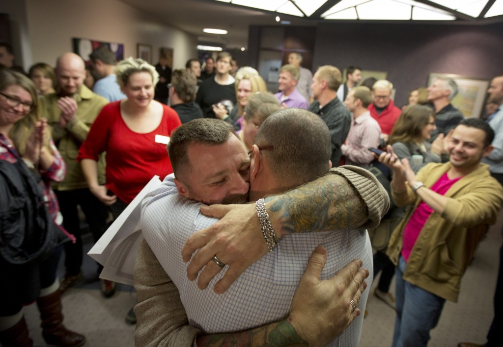 utah celebrates same-sex marriage ban