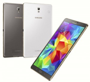 Galaxy Tab S 10.5 Super AMOLED Tablet Unveiled by Samsung