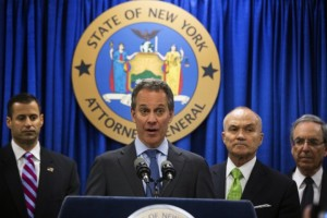 NY Attorney General Eric Schneiderman files lawsuit against Barclays