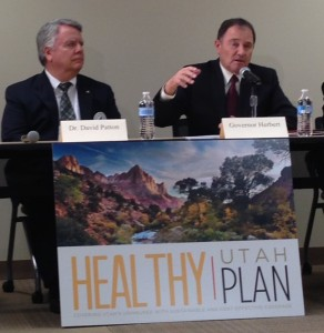Utah Gov. Herbert explains Healthy Utah plan