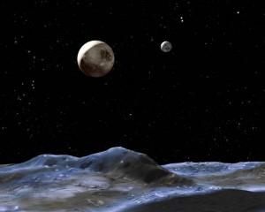 Giant Oceans Hidden Under Pluto's Moon Charon?