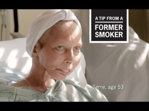Cancer sufferer Terrie Hall in new CDC anti-smoking campaign