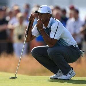 British Open Underway- Tiger Woods Feeling Confident