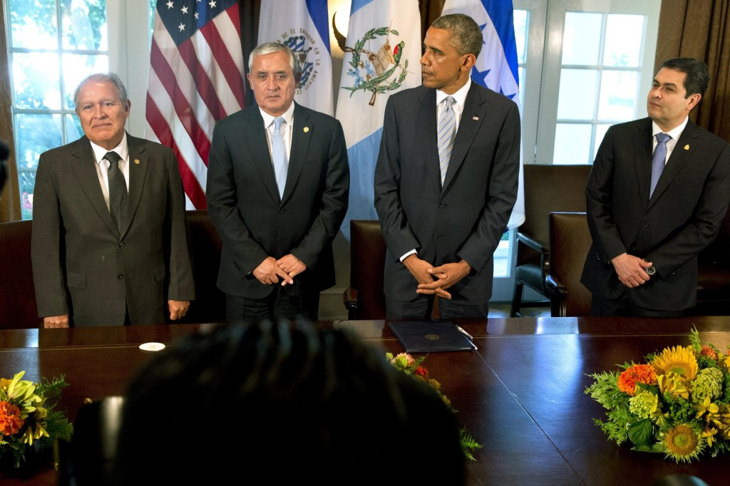 Obama Dealing with Border Crisis with Central American Leaders