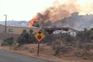 3.500-Acre Wildfire Still Burning in Eastern Utah