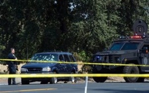 Three People Dead in California Gun Battle