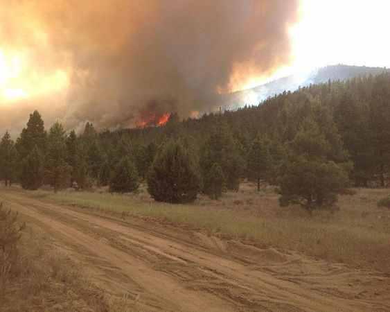 klamath falls wildfire