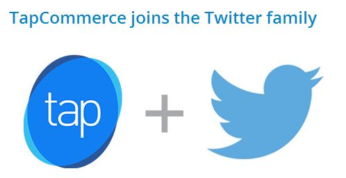twitter tapcommerce purchase