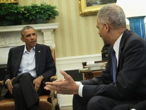 Obama Praises the Progress Made in Iraq and Calls for Calm in Ferguson