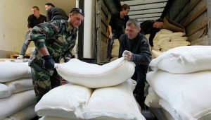 Russian Aid Trucks Already on their Way out of Ukraine