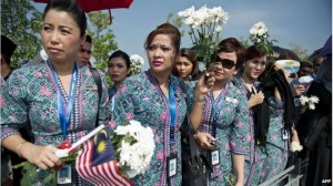 Malaysian Airlines Aircraft Crash Victims Arrive Home