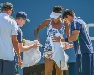 Venus Williams, Saved by the Bee, Beats Kimiko Date-Krumm