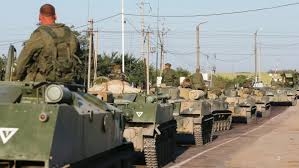 Ukrainian Government Destroys Russian Aid Convoy That Proved to be a Military Column