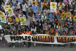 Climate Change March Gathers 300.000 People in New York