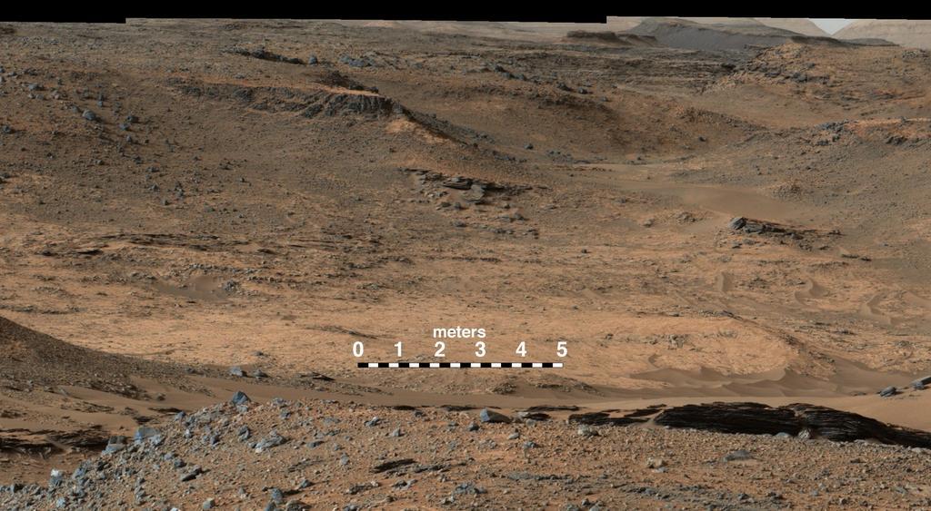 Curiosity Rover Reaches Landmark Destination