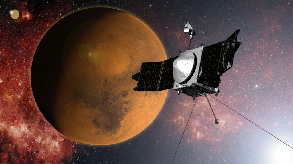MAVEN Reached Mars, NASA Announced