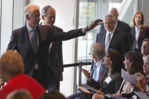 Former Repulican and Democratic ex-Presidents Discuss Leadership in Washington