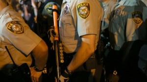 Ferguson Police Officer Shot Amid Protests