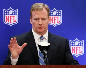 Roger Goodell on Pledges Transparency and New Measures when Dealing With Domestic Violence