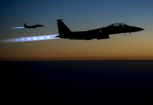 U.S.-led Airstrikes Hit Grain Silos in ISIS controlled Territories