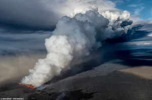 Volcano Tornadoes Filmed for the First Time in Iceland