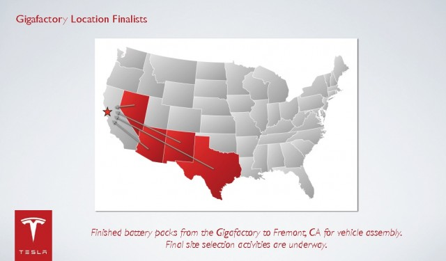 tesla motors chose nevada