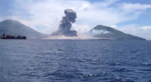 Video of Volcano Sonic Boom Captured at Mount Tavurvur