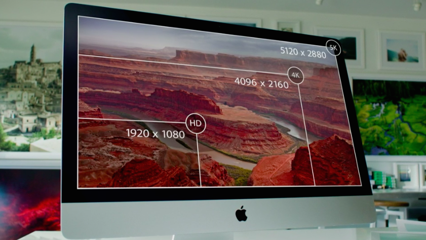 Apple Launches iMac with Retina 5K Display