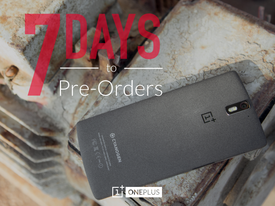 OnePlus One Preorders Available for One Hour on October 27