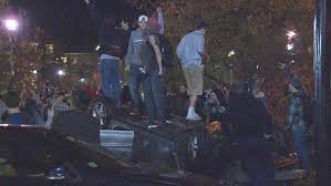 Students Involved in Pumpkin Festival Riots to be Held Accountable
