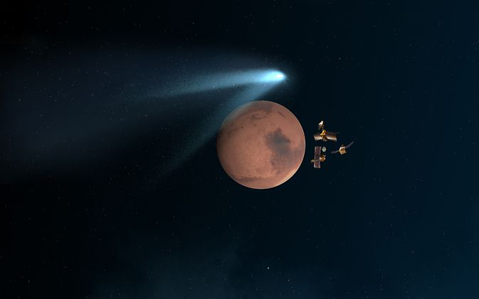 US-SPACE-MARS-COMET