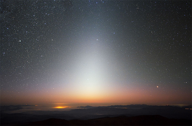 Exozodiacal Light