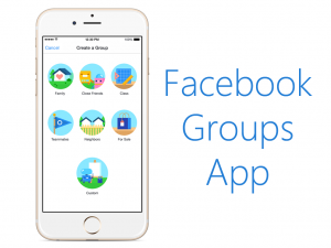 New Standalone App by Facebook: Groups App