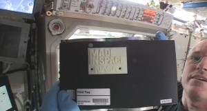 ISS 3D Printer Produces First Part in Space
