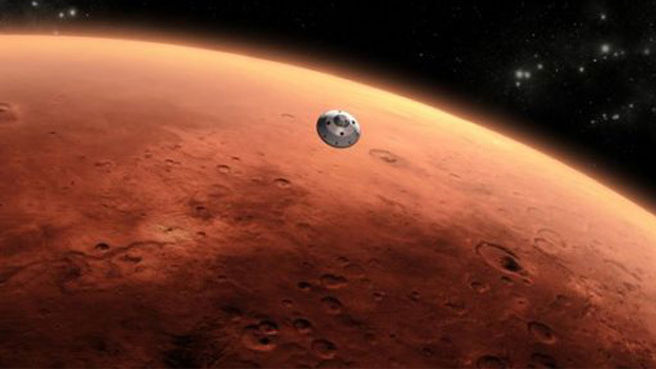 NASA's Mars Mission Takes Its First Major Step