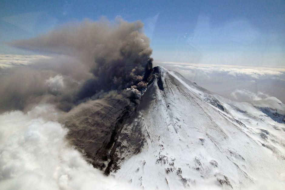 eruption pavlof