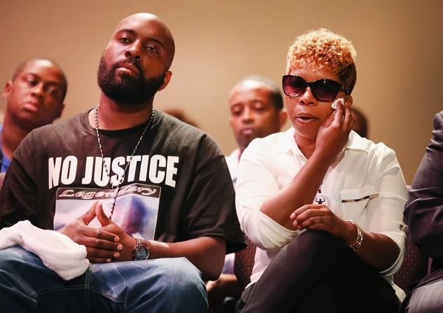 parents of killed black teens