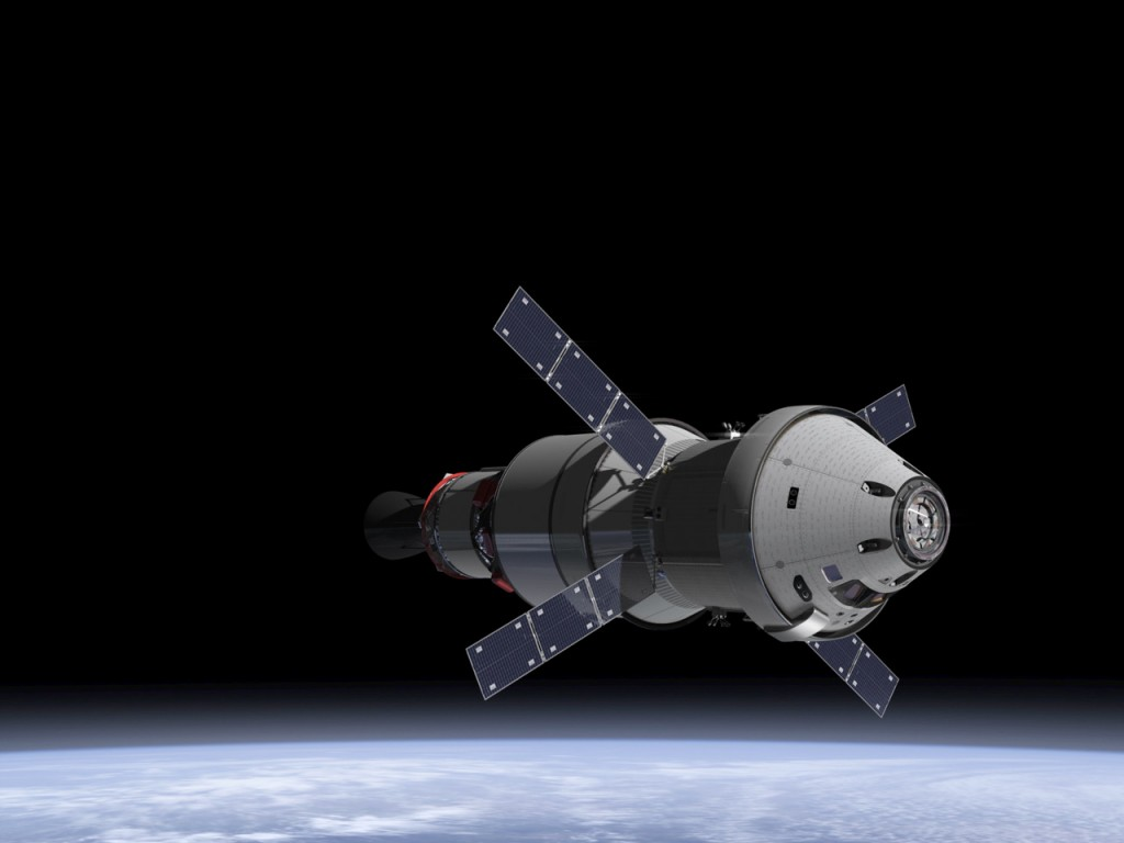 orion human space capsule