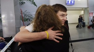 Californian Teenagers Return after Russian Ordeal