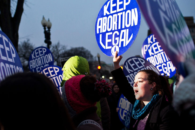 Nat'l Organization For Women Marks Roe V. Wade Anniversary At Supreme Court