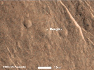 Mars Lander, Beagle-2 Was Found on Mars after 11 Year Missing