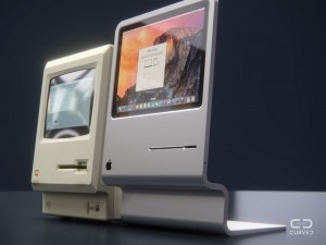 Mac 2015 Concept Blends the Old with the New