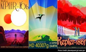 NASA Launches Vintage Travel Posters Depicting Newfound Exoplanets
