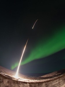 NASA and Utah State Launch Probe to Study Aurora Borealis' Energy Flow
